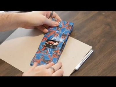 How to Make Pockets in a Duct Tape Wallet : Duct Tape Designs