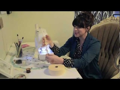How to Ruffle Crepe Paper With a Sewing Machine: Ruffled Crepe Paper Tutorial