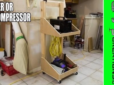 Make A Welder Or Air Compressor Cart - 152