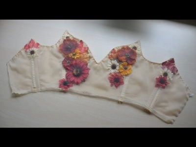 Making a Flower Fairy Dress - Part Two