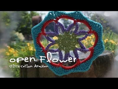 Open Flower Motif for Stitch-cation