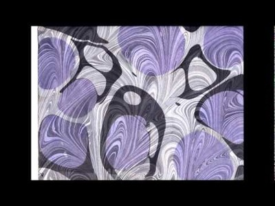 Paper Marbling--An Ancient Book Art.wmv