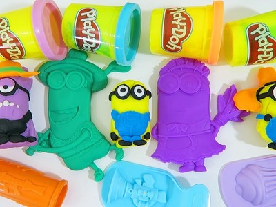 Play Doh Despicable Me Minions Makin' Mayhem Creations Play Dough Despicable Me Movie Playset!