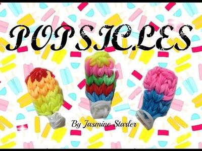 POPSICLES (Original Desgin) Rainbow Loom Charm