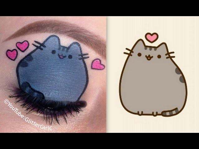 Pusheen the cat Makeup Tutorial