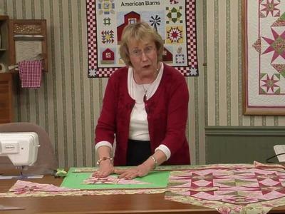 Quilt Blocks on American Barns - Dora's Delight Block