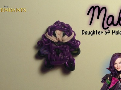 Rainbow Loom Mal Charm | Descendants [Tidbits Series]