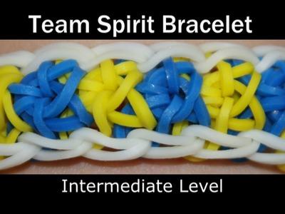 Rainbow Loom® Team Spirit Bracelet