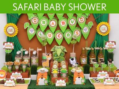 Safari Baby Shower Party Ideas. Safari - S10