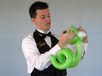 """""""Simple Snake Balloon Animal"""" by @YourBalloonMan at YTEevents.com"""