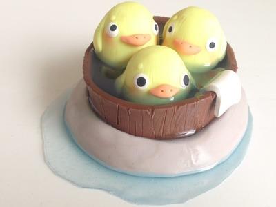Spirited Away Duck Spirit Bath DIY