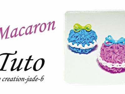 Tuto Rainbow Loom - Macaron en 3D !