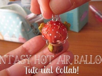 Tutorial #5 - Fantasy Hot Air Balloon - Collab With ArtMonsterKrys! ♡