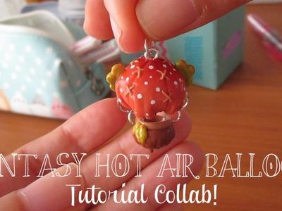 Tutorial #5 - Fantasy Hot Air Balloon - Collab With ArtMonsterKrys! ♡