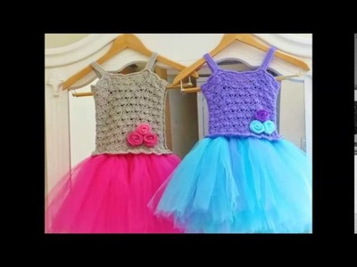 Tutu Dress Crochet Pattern, Crochet Baby Dress Pattern