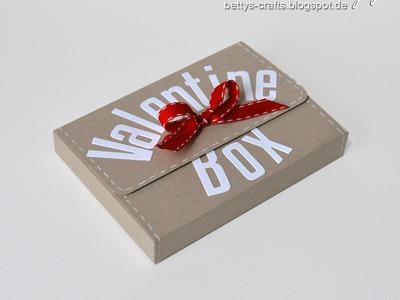 Valentine Box - Gift Card Box - Karten-Geschenkbox (2013)