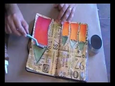 'When was the last time. ' art journaling