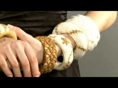 #1 Knitted Bangles, Vogue Knitting Holiday 2008