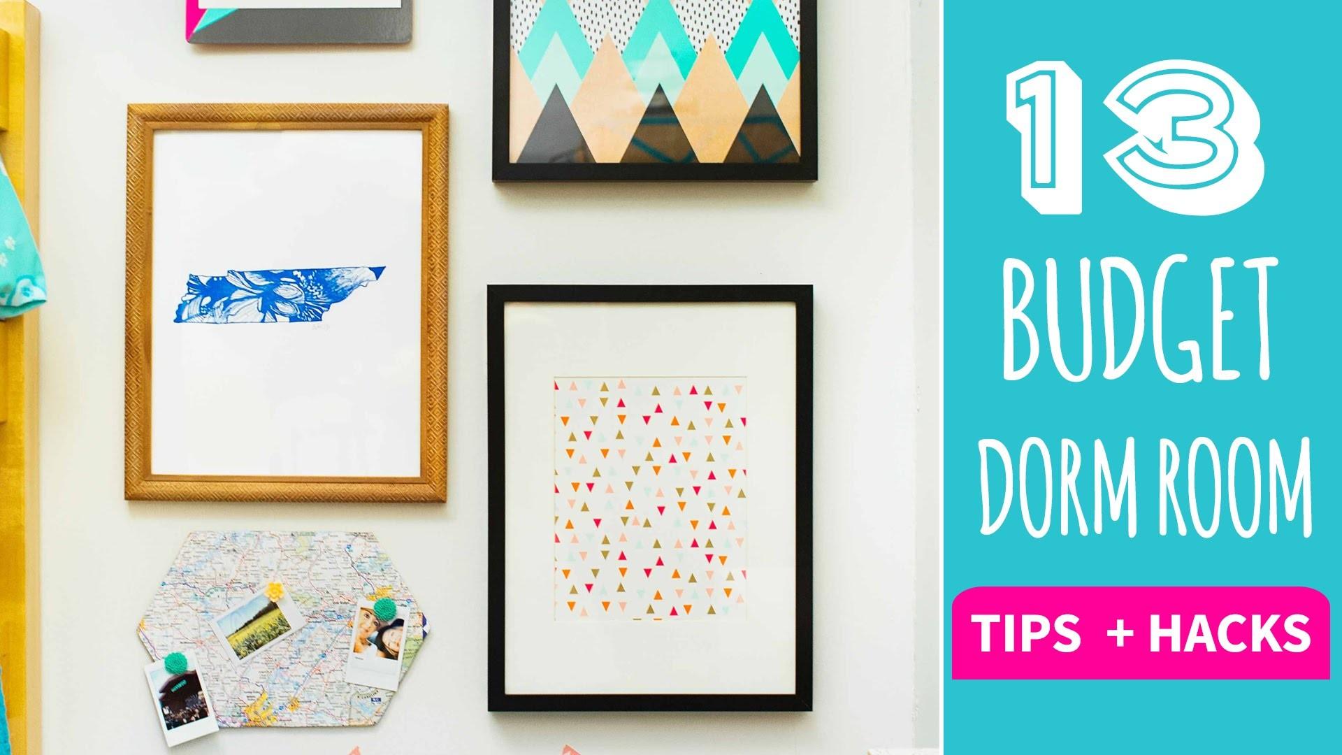 13 Tips and Hacks for Dorm Decor on a Budget - HGTV Handmade