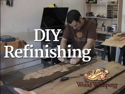 3 - DIY Refinishing