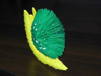 3D origami snail tutorial