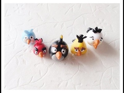 Angry Birds (clay miniatures)