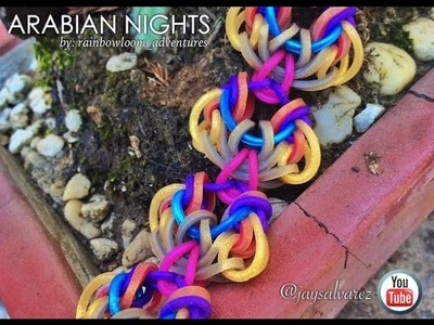 ARABIAN NIGHTS Hook Only bracelet tutorial