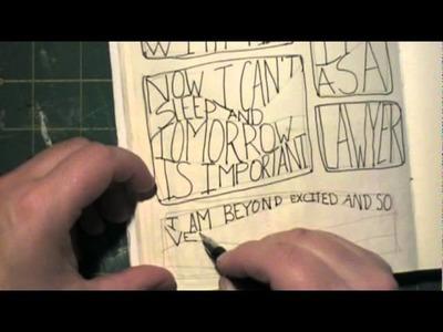 Art Journal Idea: Slow Journaling DaisyYellow Style