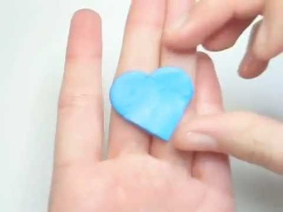 Clay Made Easy: No Heart Cookie Cutter? No Problem!