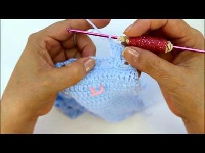 Crochet Along Baby Layette - Bonnet (Video 3)