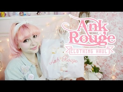 ♡ Cute Pastel Fashion | Ank Rouge HAUL! ♡
