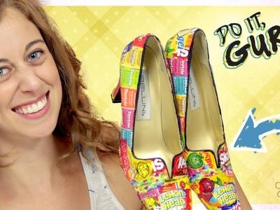 Decoupage Shoes - Do It, Gurl