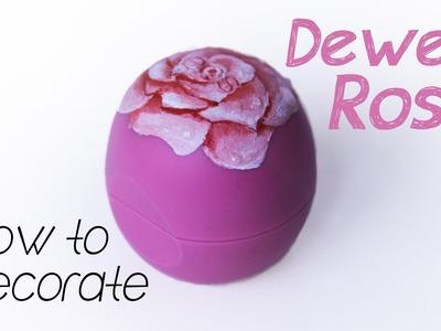 Dewed Rose eos lip balm | Pencilmade.dk