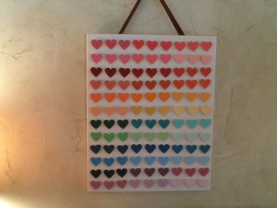 DIY 3D Paint Chip Wall Art (Incredibly Inexpensive)