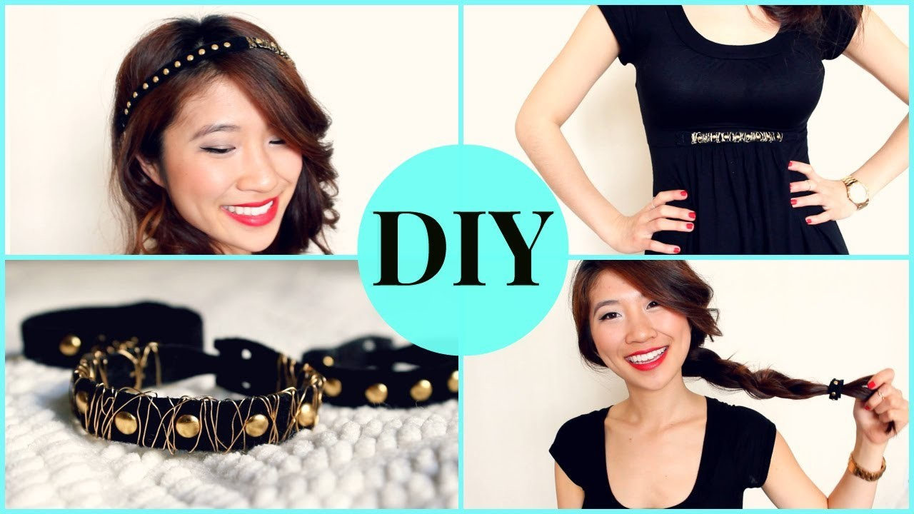 DIY: 4 Easy Studded Accessories + ($550 Giveaway)