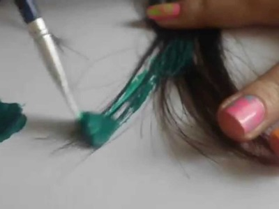 DIY: Color your hair temporary[HD]