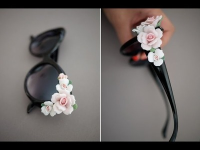DIY: Dolce Gabbana Inspired Floral Sunglasses
