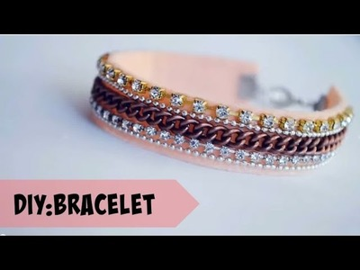 DIY : fancy bracelet