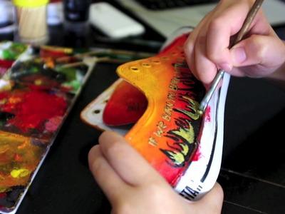 DIY: hunger games sneakers