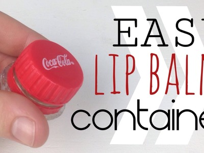 DIY Lip Balm Containers