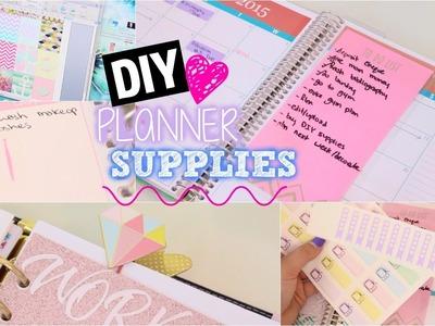 DIY Planner Supplies!