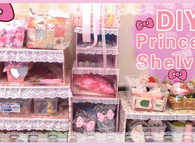 DIY Room Decor | Make Your Own Princess Shelves(Easy)