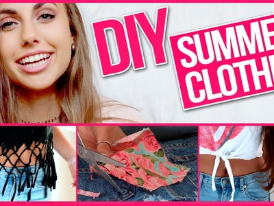 DIY Tumblr Inspired Summer Clothes with Natalie-Tasha