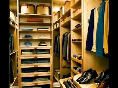 Easy DIY walk in closet decorations ideas