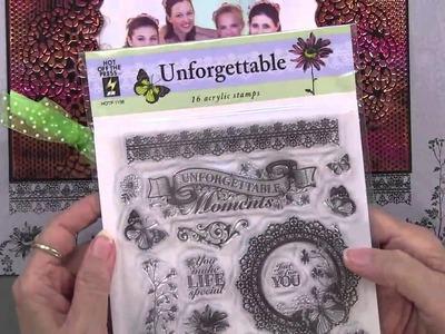 Embossing Folders Ann's Fall Look - Paper Wishes Weekly Webisodes