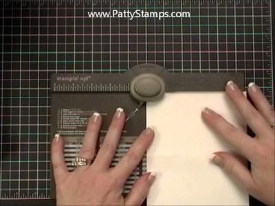 File Folder Cards using Envelope Punch Board - Stampin Up