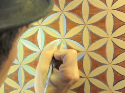 FLOWER of LIFE: Sacred Geometry, Making a Flower of Life Mandala