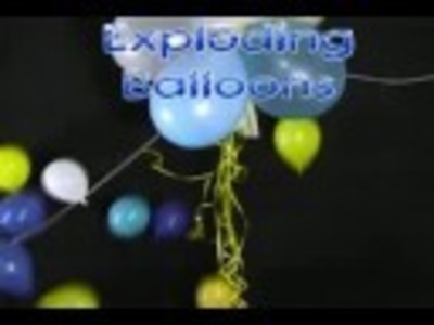 Fun Party Decorations - Exploding Balloons
