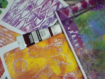 Gelli Arts Printing Plate Review and Demo!