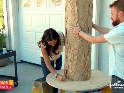 Giant Spooky Halloween Tree DIY